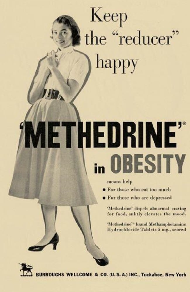 Methamphetamine History Hilarious Ads From When Meth Was