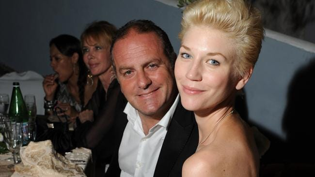 Pascal Vicedomini and Anna Maria Mostrom. (Photo by Venturelli/WireImage)
