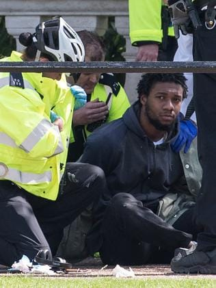 Man Detained By Police Close To Buckingham Palace