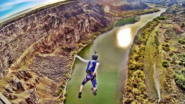 Katie Connell had completed about 300 BASE jumps. Picture: Facebook