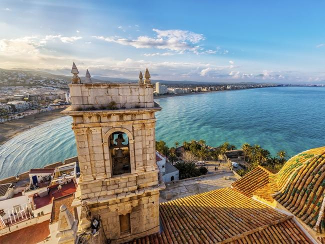 Views from Pope Luna's Castle in the city of Peniscola in Valencia. Picture: iStock