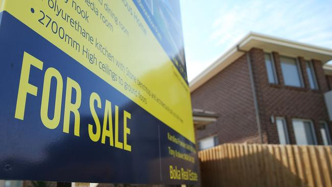 The overheated housing market is good news for investors but bad news for low income earners. Picture: Brendon Thorne/Getty Images.