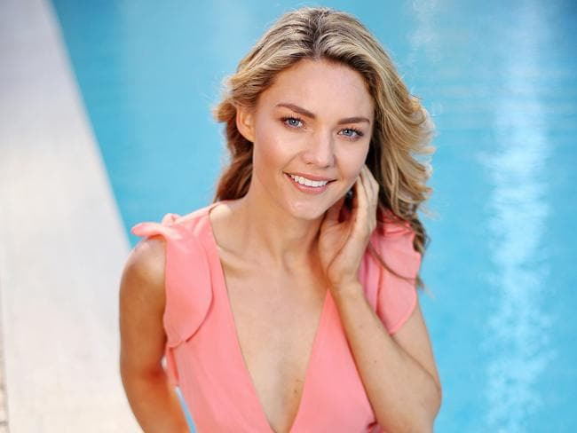 The 28-year-old is set to appear in Home & Away. Picture: Sam Ruttyn.