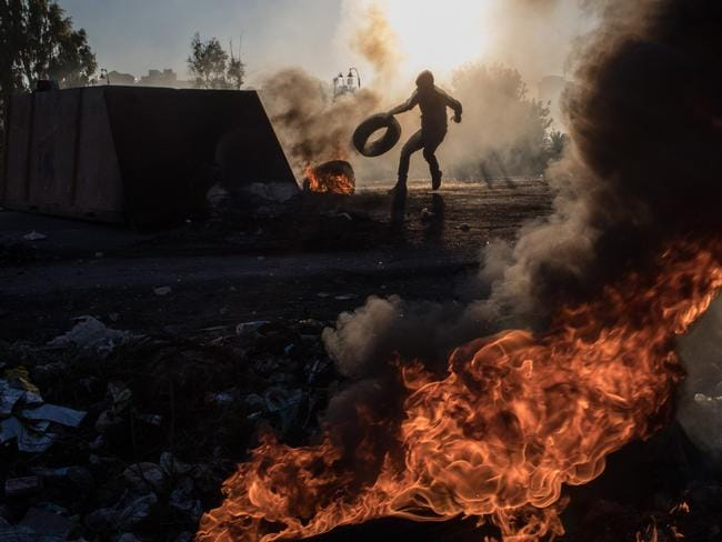 Two men had died in protests in the West Bank. Picture: Getty