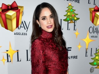 Meghan Markle is getting her Christmas shopping done early. Photo: Getty