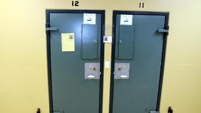 Cell 12 in the Supermax segregation wing, where Bassam Hamzy was placed after being caught running drugs in jail. Picture: Adam Taylor