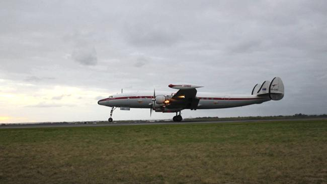 Lockheed Super Constellation 'Connie'. Picture: Supplied