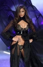 Taylor Hill walks the runway during the 2016 Victoria's Secret Fashion Show on November 30, 2016 in Paris, France. Picture: Getty