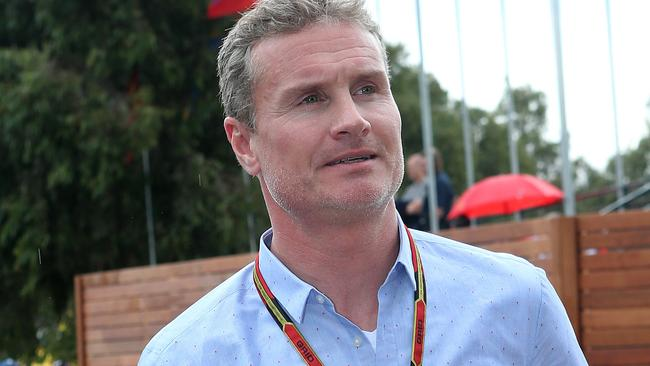 Retired F1 driver David Coulthard will also be part of the new Top Gear. Picture: Julie Kiriacoudis