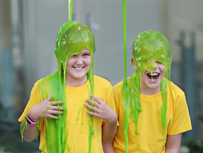 Nickelodeon Slime Cup at the Hyperdome. Picture: Annette Dew