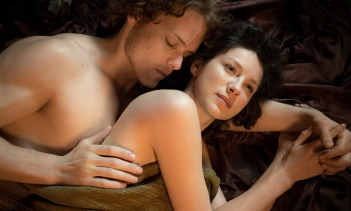 It's the sexual tension between Jamie and Claire that had us all on the edge of our seats. When they finally got it in, it was just as hot as we imagined.