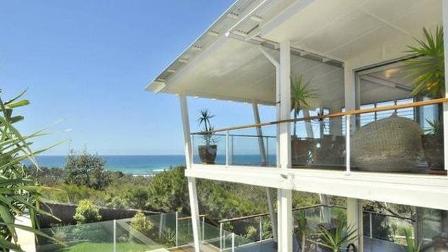 Kevin Rudd's Sunshine Coast home. Supplied.