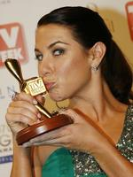 "Winner of the Gold Logie Award 2007. Kate Ritchie in ""Home and Away"", Seven Network."