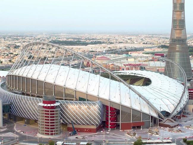 Khalifa International Stadium, the first completed 2022 FIFA World Cup venue, was built this year.