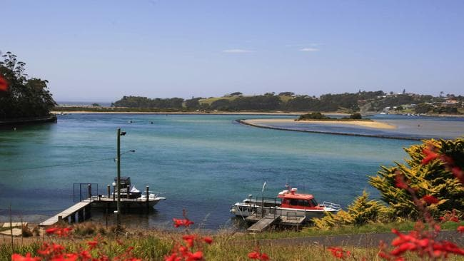 The bay at Narooma on the south coast of New South Wales.