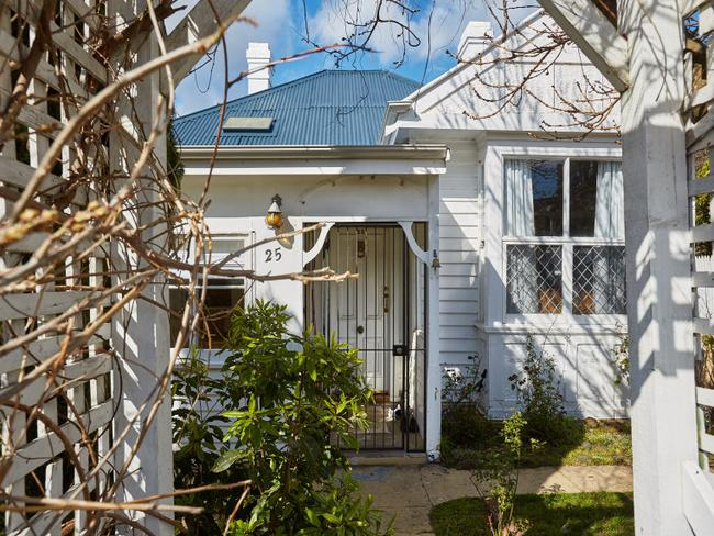 This four-bedroom cottage is less than 10km from Hobart's CBD. Picture: realestate.com.au