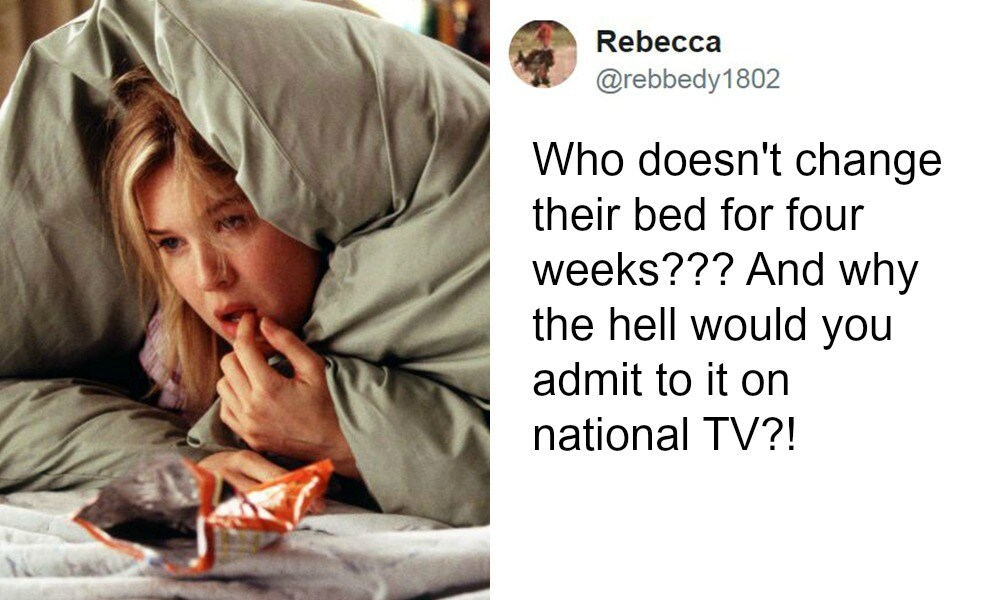 Mum admits on live TV exactly how often she washes her sheets