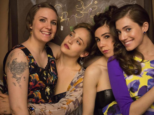 With her Girls ... Lena Dunham As Hannah Horvath, Jemima Kirke As Jessa Johansson, Zosia Mamet As Shoshanna Shapiro, Allison Williams As Marnie Michaels.