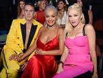 Jeremy Scott, Rita Ora and Gwen Stefani attend the 2014 MTV Video Music Awards at The Forum on August 24, 2014 in Inglewood, California. Picture: Getty
