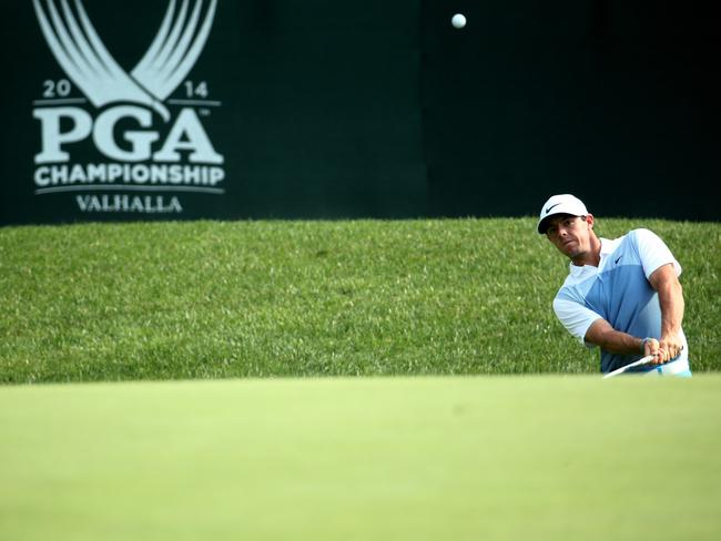 Rory McIlroy of Northern Ireland is favoured to win at Valhalla.