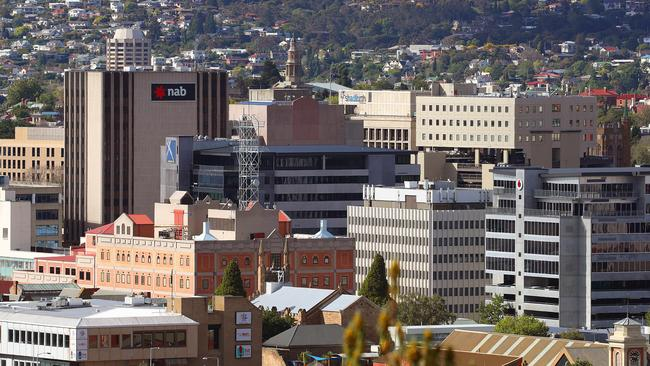 Hobart recently took Sydney's crown as the nation's fastest growing property market. Picture: Sam Rosewarne