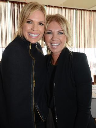Sonia Kruger and her sister Debra Bailey. Picture: Regina King