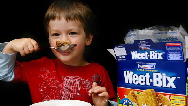 Good thing ... the salt content of many breakfast cereals has been reduced by up to 25 per cent. Picture Ian Currie