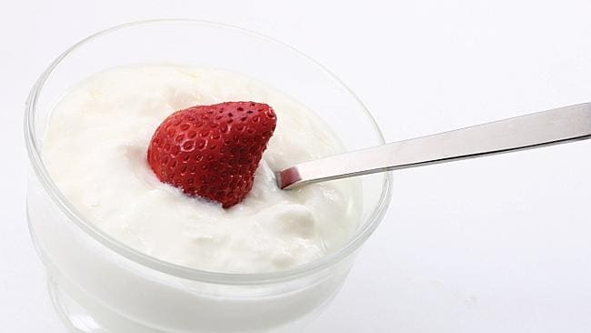 Yoghurt is also a no-no. Picture: Thinkstock