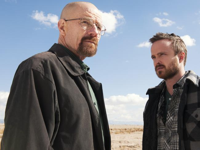 The one who talks ... Breaking Bad star Aaron Paul is annoying gamers with his Xbox One ad, which is turning on their voice-activated gaming systems. Picture: AP/AMC