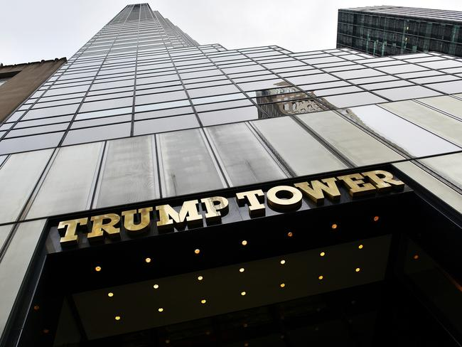 The secret June 2016 meeting to discredit rival Hillary Clinton took place at Trump Tower (above)> Picture: Andrea Franceschini.