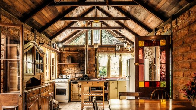 This rural cabin in Bellingen is on the market for between $290,000 and $310,000.