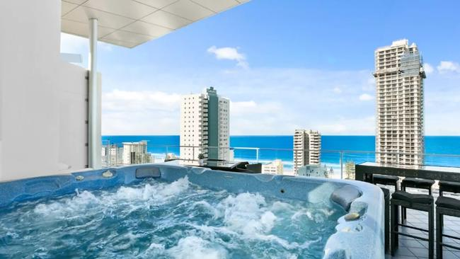You can book this Surfers Paradise penthouse on Airbnb for $550 per night.