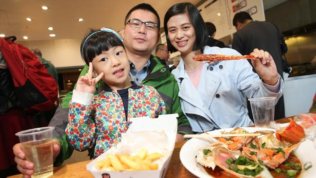 New strategy ... A campaign to attract China's emerging middle class is paying off for Australia. Pic: Dylan Robinson/News Corp Australia
