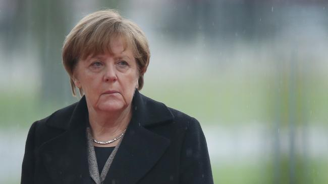 Anger over the attacks has put pressure on Chancellor Angela Merkel's liberal attitude towards refugees from the Middle East. Picture: Sean Gallup/Getty Images
