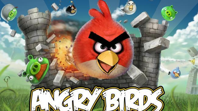 Channel your anger with a game of Angry Birds.