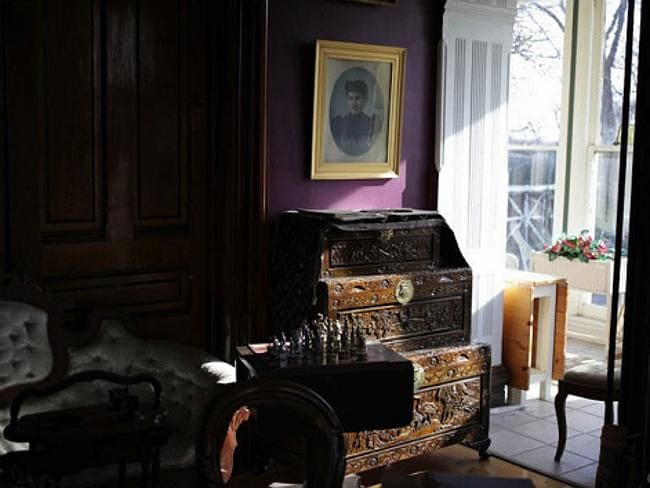 The home has historic features throughout. Pic: Anna Aarons.