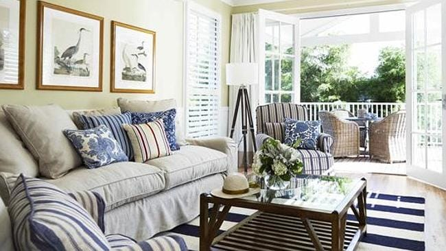 The Hamptons' influence is obvious in the laid-back charm of each suite.