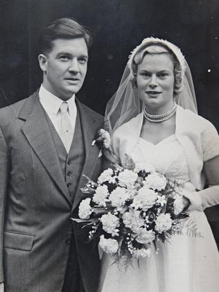 The original owners of the property, Diana and Ronald Stockley.