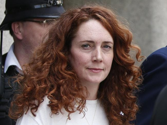 Former News International chief Rebekah Brooks leaves the Central Criminal Court in London after being acquitted of phone hacking charges. Picture: AP Photo/Lefteris Pitarakis