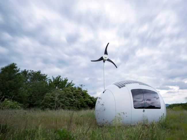The perfect home for nature-loving Googlers. Picture: Ecocapsule.sk