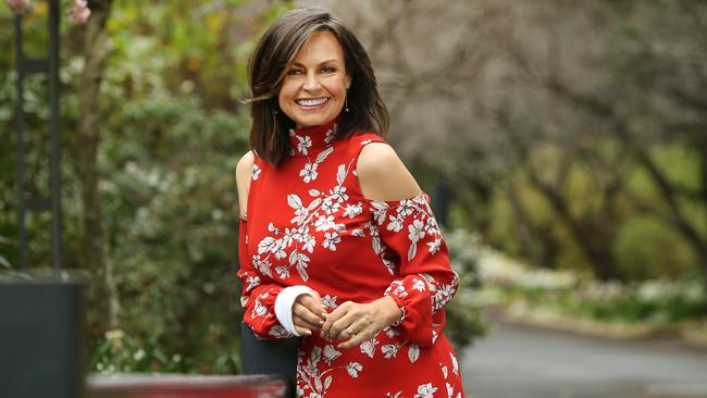 Lisa Wilkinson signed her first commercial partnership with health/Vitamin brand Nutra-Life. Picture: Richard Dobson