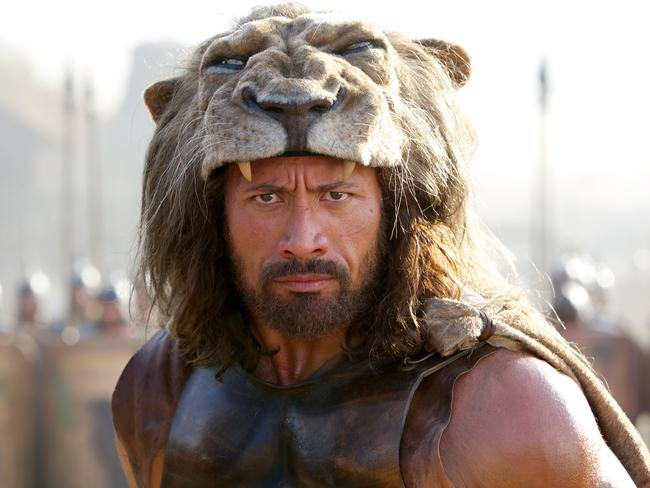 "Dwayne Johnson is ""every bit the right fit for a lighter, brighter and swifter take"" on the legend of Hercules."