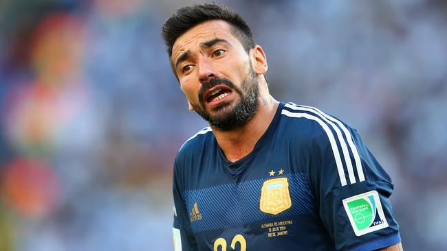 Ezequiel Lavezzi of PSG has emerged as a target of Liverpool.