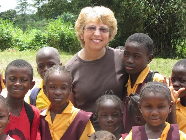 Nancy Writebol is one of two missionaries in Liberia that have been diagnosed with Ebola. Pic: AP/Jeremy Writebol.