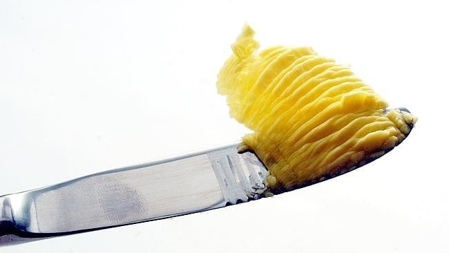 Put it back on the knife ... butter is not going to give you heart disease, new research