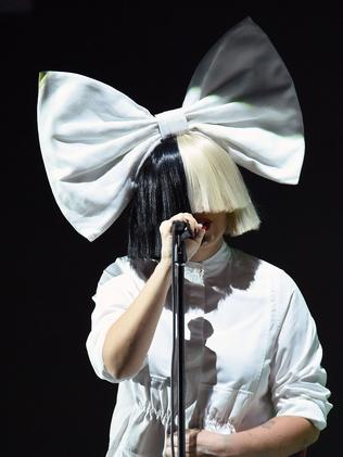 Sia's Cheap Thrills was one of the most streamed tracks in 2016. Picture: AFP / Josh Edelson