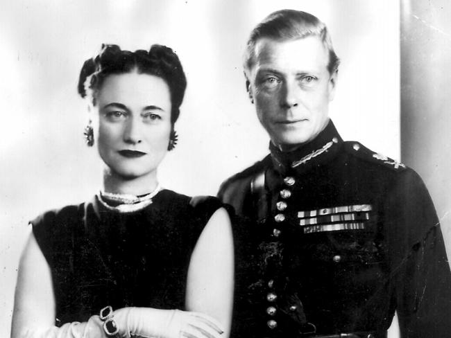 Duke and Duchess of Windsor in the 1930s (formerly Wallis Simpson and King Edward VIII). Picture: Supplied