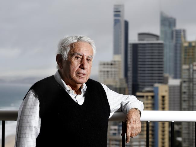 Australia's richest man Harry Triguboff says there is a risk of foreign buyers walking away from purchases. Picture: Jerad Williams