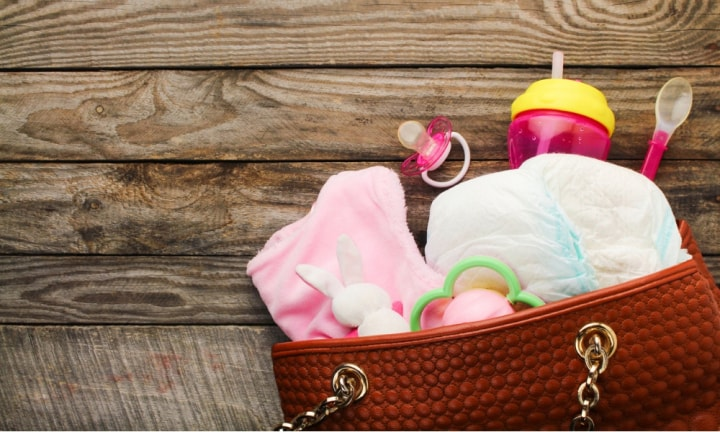 What you really need in your nappy bag