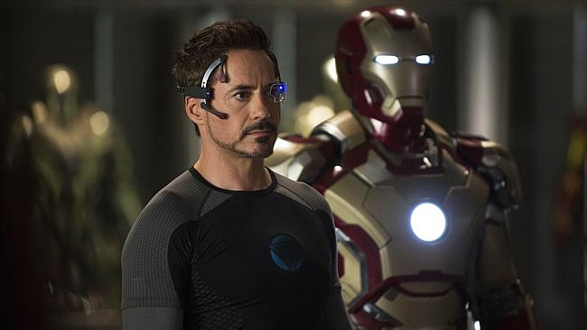 Robert Downey Jr's Iron Man 3 was a hit with Australian audiences. Picture:. Zade Rosenthal/Marvel/AP